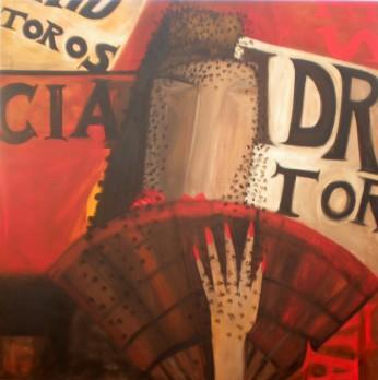 Mujer gris del pasado (130x130) - Lucia Valverde